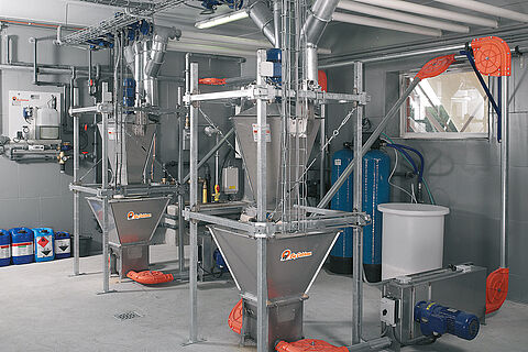DryExact pro sistem suhog hranjenja